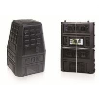 Plastový kompostér 850l, černý IKEL850C EVOGREEN