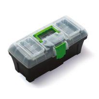 """Plastový kufr, box na nářadí 12"""" GREENBOX"""