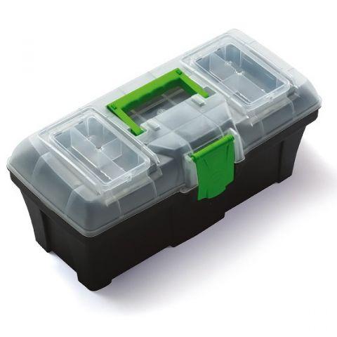 """Plastový kufr, box na nářadí 15"""" GREENBOX"""