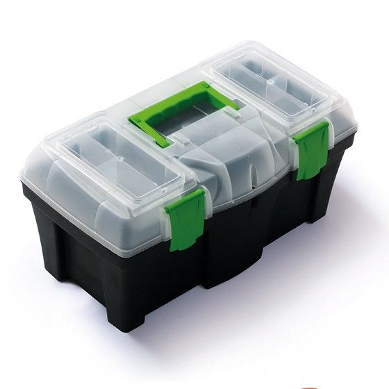"""Plastový kufr, box na nářadí 18"""" GREENBOX Nářadí-Sklad 1   0"""