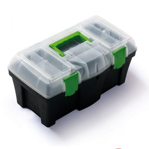"""Plastový kufr, box na nářadí 18"""" GREENBOX"""