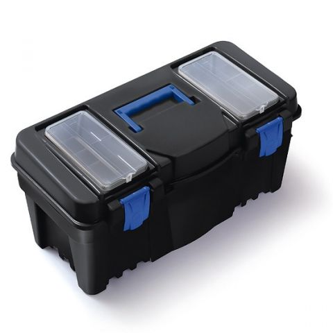 """Plastový kufr, box na nářadí 22"""" CALIBER"""