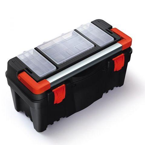 """Plastový kufr, box na nářadí 22"""" N22R2A MUSTANG"""