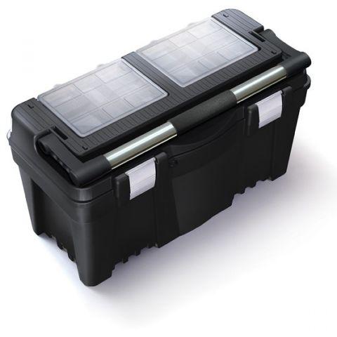 """Plastový kufr, box na nářadí 25"""" N25AFI PRACTIC"""
