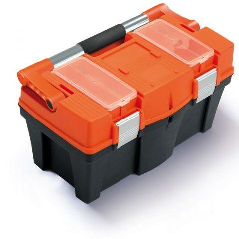 """Plastový kufr, box s organizérem 18"""" PRACTIC"""