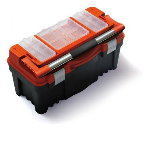 """Plastový kufr, box s organizérem 22"""" PRACTIC"""