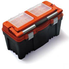 """Plastový kufr, box s organizérem 25"""" PRACTIC"""