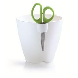 Plastový květináč 1,3L s nůžkami LIMES UNO