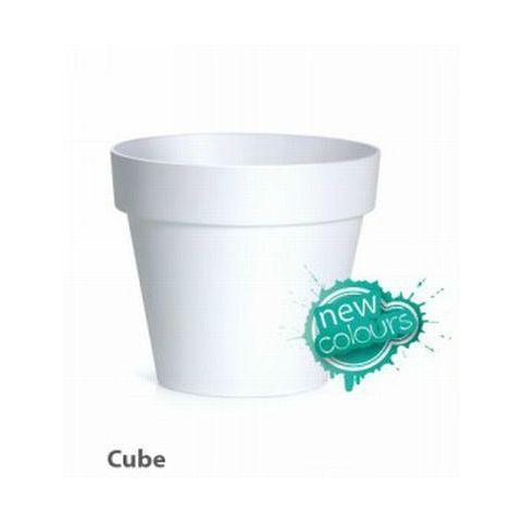 Plastový květináč 12L CUBE