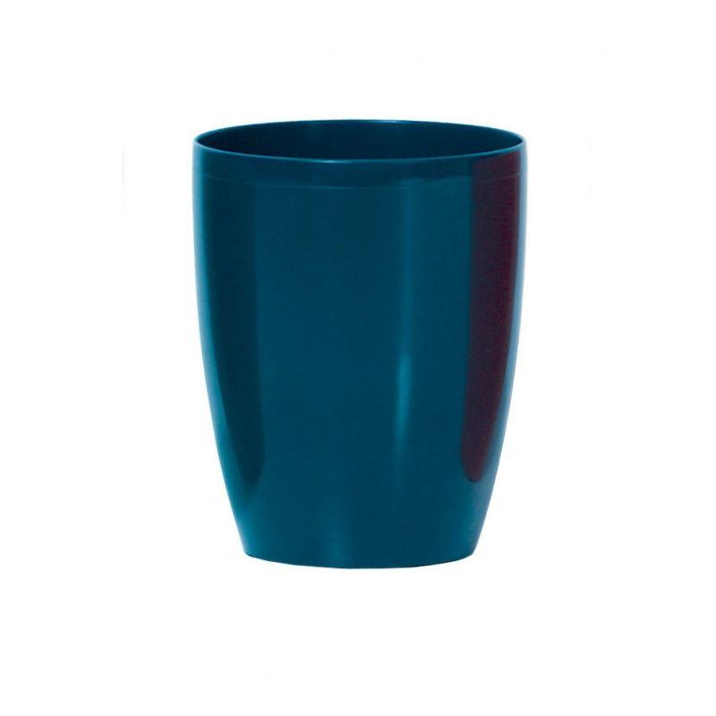 Plastový květináč 2,4L DUOW160 COUBI, aquamarine *HOBY 0Kg DUOW160-3025C
