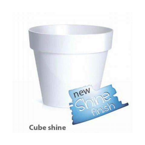 Plastový květináč 3,5L CUBE SHINE