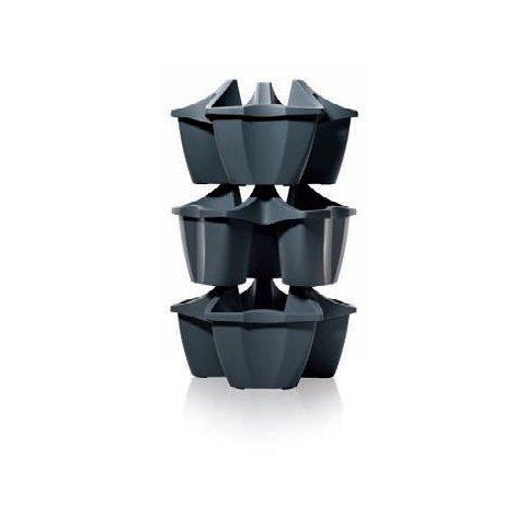 Plastový květináč, jahodník (kaskáda) 16L CROWN