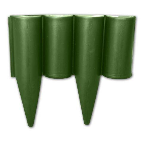 Plastový obrubník - palisáda 2,5m, 225mm, zelená PALGARDEN