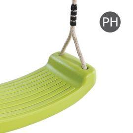 Plastový sedák k houpačce zelená limetka PH10 KAXL