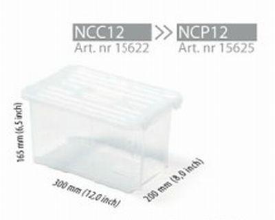 "Plastový úložný box bez víka 12"" CARGOBOX *HOBY 0Kg NCC12"