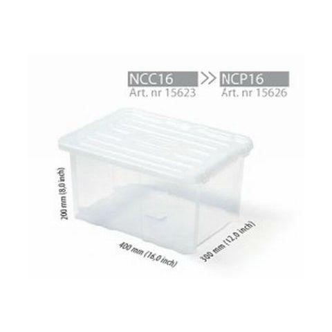 """Plastový úložný box bez víka 16"""" CARGOBOX"""