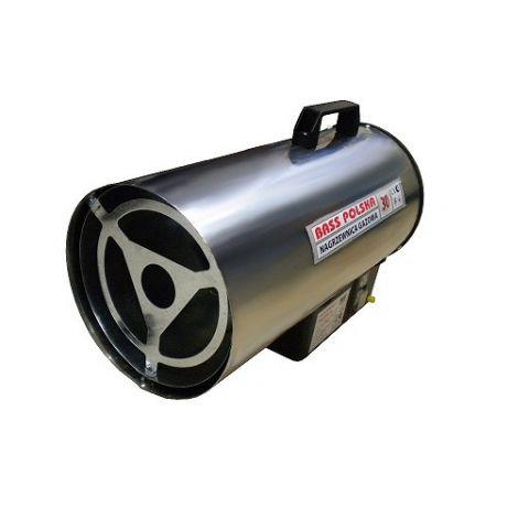 Plynová horkovzdušná turbína, topidlo, ohřívač 20kW, BASS