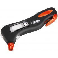 Pneuměřič digitální EMERGENCY 5v1, pneuměřič, LED světlo, nůž na pásy, kladívko na sklo