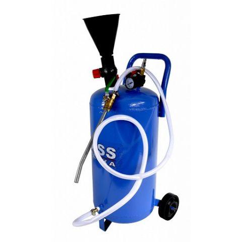 Pojízdná tlaková maznice 10l, BASS