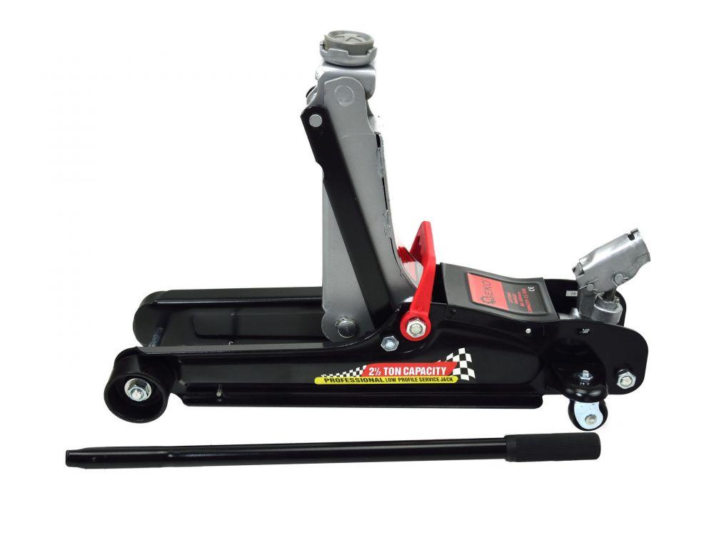 Pojízdný hydraulický zvedák 2,5t nízkoprofilový, otočná hlava, kufr GEKO Nářadí-Sklad 1 | 14.5