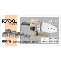 Polyfúzní svářečka plastových trubek KAXL 800W