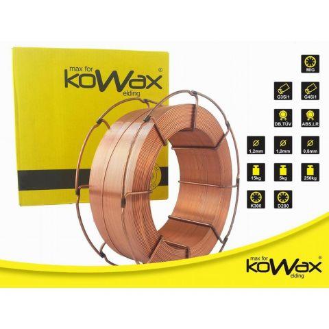 Poměděný svářecí drát G3Si1 1,0 mm 5kg KOWAX