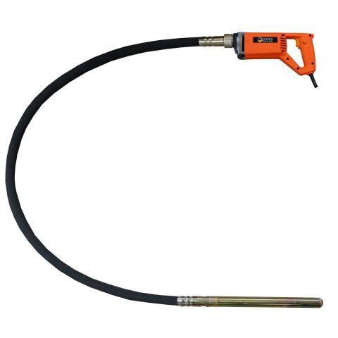 Ponorný vibrátor do betonu 1250W, 35mm, 2m MAR-POL
