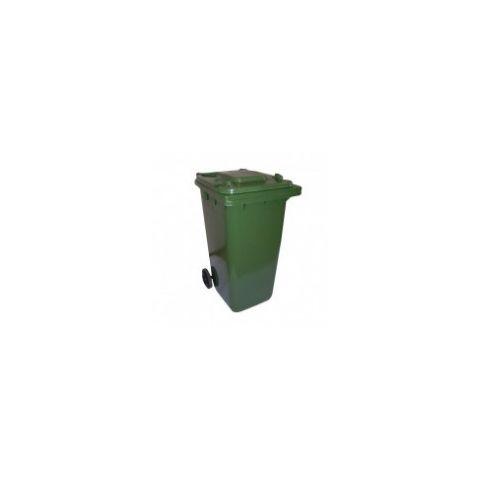 Popelnice hranatá 240l PVC - zelená