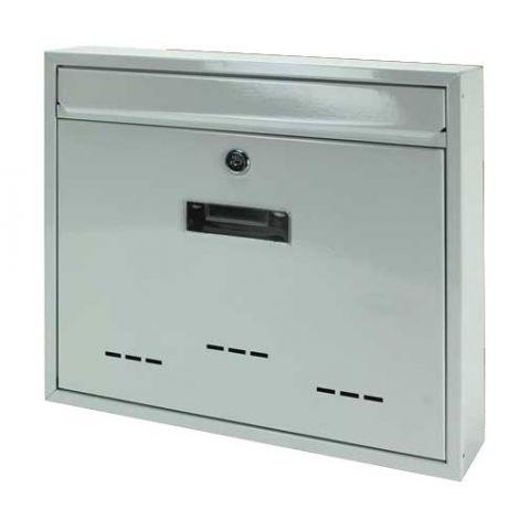 Poštovní schránka velká bílá 31x36x9cm 233