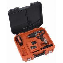 POWDP1515 Aku šroubovák/vrtačka + nabíječka 20V/40V + baterie 20V LI-ION POWERPLUS