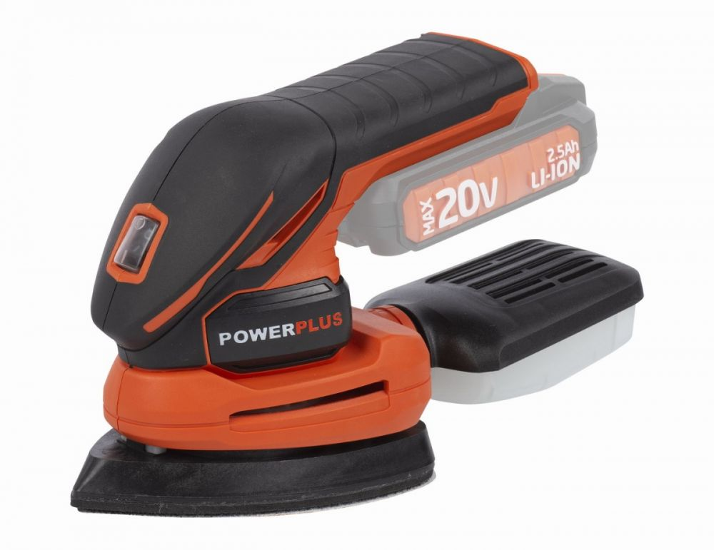 POWDP5020 Aku vibrační delta bruska 20V (bez AKU) POWERPLUS *HOBY 0Kg POWDP5020