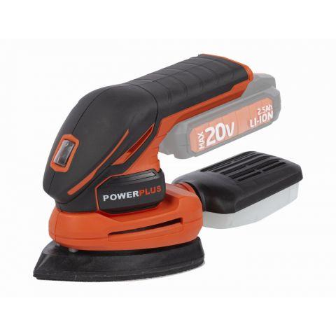 POWDP5020 Aku vibrační delta bruska 20V (bez AKU) POWERPLUS