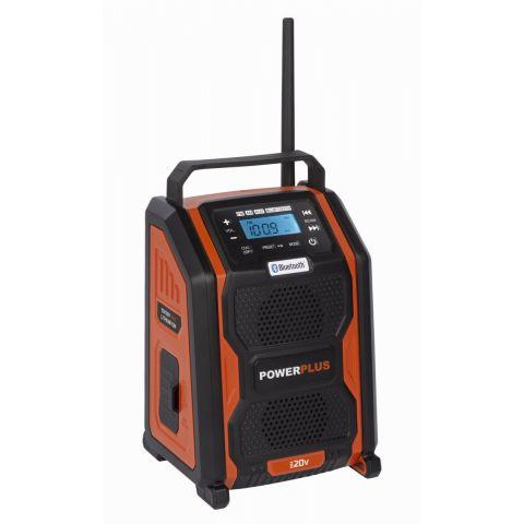 POWDP8060 Aku rádio 20V + 220V (bez AKU) POWERPLUS