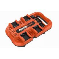 POWDP9055 Multi nabíječka na 4 baterie 20V/40V POWERPLUS