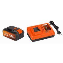 POWDP9064 Nabíječka 20V/40V + Baterie 40V LI-ION 2,5Ah SAMSUNG POWERPLUS