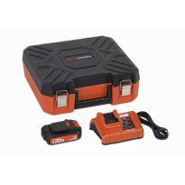 POWDP9066 Nabíječka 20V/40V + Baterie 20V LI-ION 1,5Ah POWERPLUS