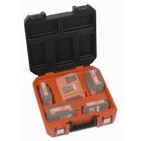 POWDPTB05 Kufřík na baterie a nabíječku DUAL POWER POWERPLUS