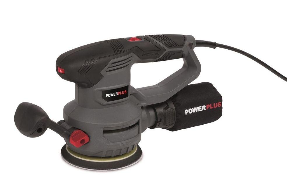 POWE40030 Excentrická bruska 450W POWERPLUS *HOBY 3Kg POWE40030