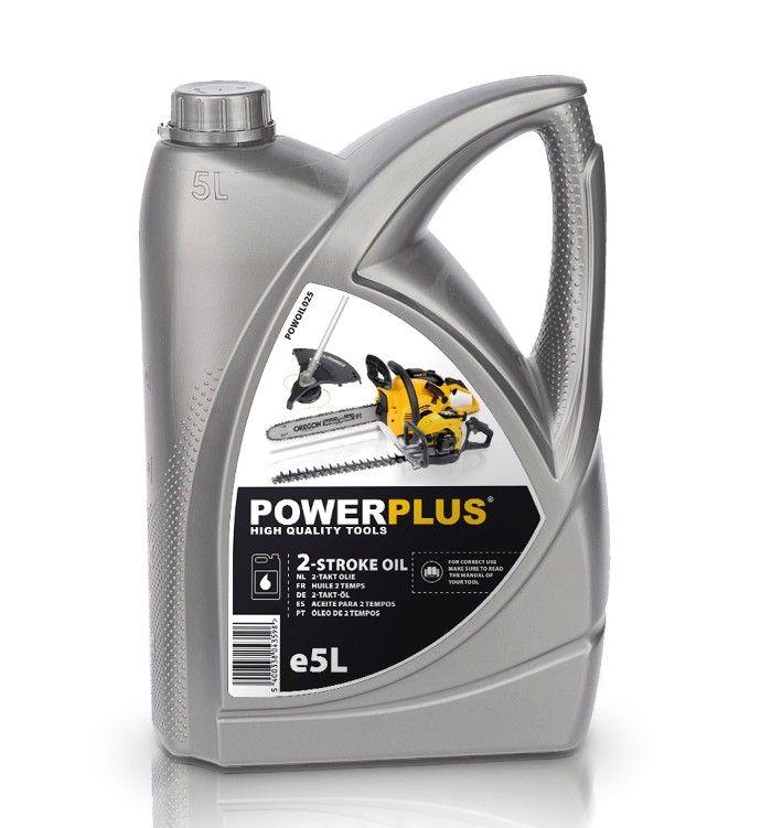 POWOIL025 Olej do 2-taktních motorů 5l POWERPLUS *HOBY 4.8Kg POWOIL025