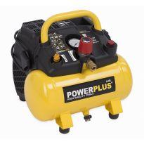POWX1721 Kompresor 1100W 6L bezolejový POWERPLUS
