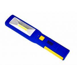 Pracovní AKU LED lampa s magnetem a hákem, BASS