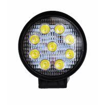 Pracovní svítilna 9 LED, 27W, kulatá TITANIUM WINCH