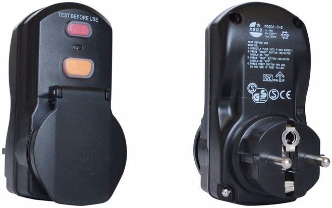 Přenosný proudový chránič PRCD GÜDE *HOBY 0.2Kg 99607