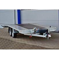 Přepravník automobilů 2700kg s plnou podlahou JUPITER 4,5 BLYSS