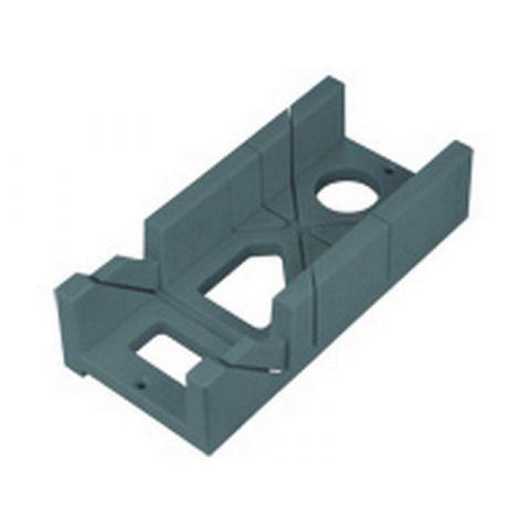 Přípravek na řezání úhlů plastový, 300x140x70mm, úhely řezu 45° a 90°, EXTOL PREMIUM