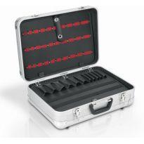 PRM10117 Hliníkový kufr se zámky DELUXE POWERPLUS