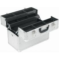 PRM10118 Hliníkový kufr se zámky skládací POWERPLUS