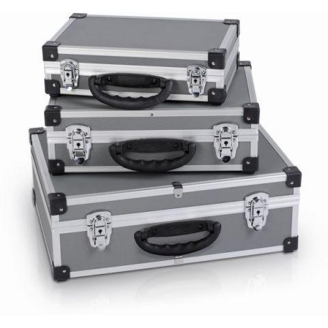 PRM10120 Sada hliníkových kufrů 3 v 1 POWERPLUS