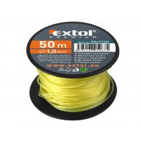 Provázek stavební, 1,7mm, 50m, žlutý, EXTOL PREMIUM