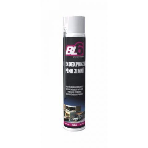 PU pěna nízkoexpanzní zimní - spray 750ml
